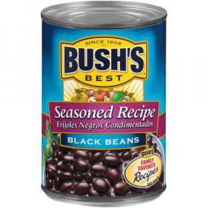 Bush's Best Seasoned Black Beans