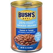 Bush's 25% Less Sugar and Sodium Sweet & Tangy Baked Beans