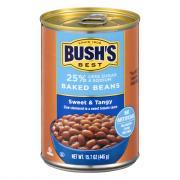 Bush's 25% Less Sugar and Sodium Sweet & Tangy Baked Beans