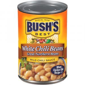 Bush's Best White Chili Beans Mild Chili Sauce