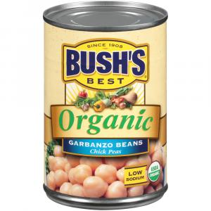 Bush's Best Organic Garbanzo Beans