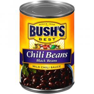 Bush's Best Chili Beans Black Beans in Mild Chili Sauce