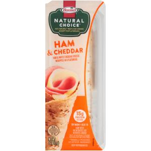 Hormel Natural Choice Ham & Cheddar Wrap