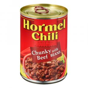 Hormel Chunky Chili With Beans