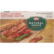 Hormel Natural Choice Fully Cooked Bacon