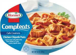 Hormel Compleats Chicken Chipotle Pasta