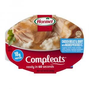 Hormel Microwave Bowl Chicken & Mashed Potatoes