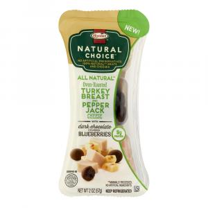 Hormel Natural Choice Turkey Breast And Pepper Jack Cheese