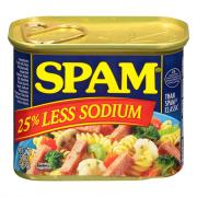 Spam Less Sodium Luncheon Meat