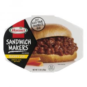 Hormel Sandwich Maker Sloppy Joe