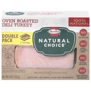 Hormel Natural Choice Oven Roasted Turkey Double Pack