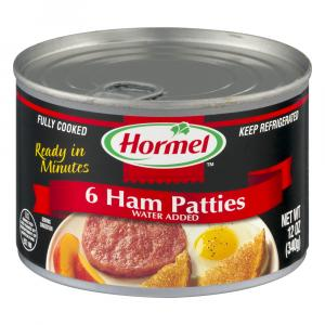 Hormel Ham Patties