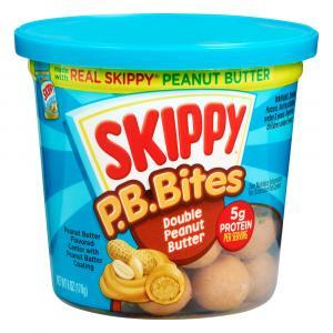 Skippy Double Peanut Butter Peanut Butter Bites