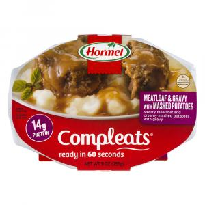 Hormel Compleats Meatloaf & Gravy with Mashed Potatoes