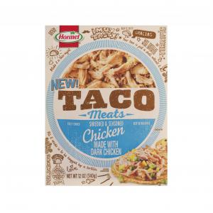 Hormel Taco Meats Fully Cooked Chicken
