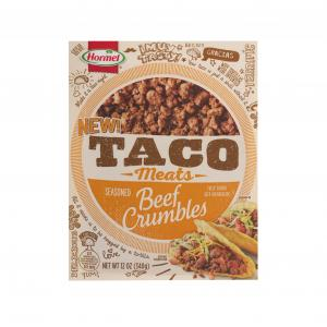 Hormel Taco Meats Fully Cooked Beef