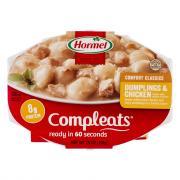Hormel Compleats Dumplings & Chicken
