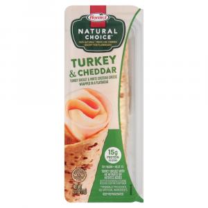 Hormel Natural Choice Turkey & Cheddar Wrap