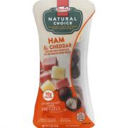 Hormel Natural Choice Honey Ham and Mild White Cheddar