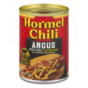 Hormel Angus Beef Chili No Beans