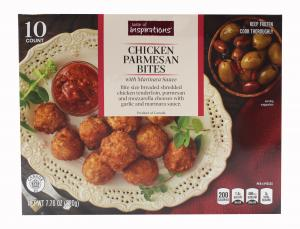 Taste of Inspirations Chicken Parmesan Bites with Sauce