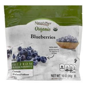 Nature's Place Organic Frozen Whole Blueberries