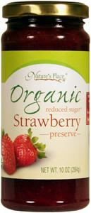 Nature's Place Organic Low Sugar Strawberry Preserves
