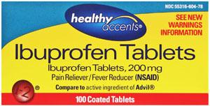 Healthy Accents Ibuprofen Tablets