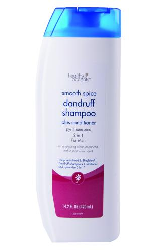 Healthy Accents 2in1 Dandruff Shampoo Smooth Spice