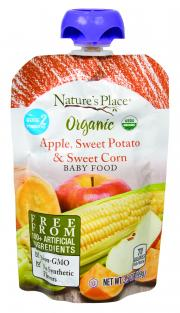 Nature's Place Organic Apple, Sweet Potato, & Sweet Corn