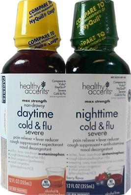 Healthy Accents Daytime Nighttime Severe Cold & Flu