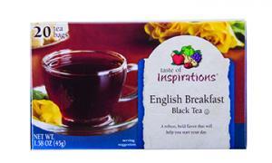 Taste Of Inspirations English Breakfast Black Tea Bags