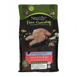 Nature's Place Free Country Salmon & Pea Recipe Cat Food