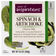 Taste of Inspirations Spinach Artichoke Cheese Dip