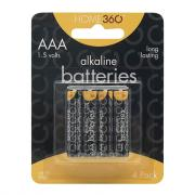 Home 360 AAA Alkaline Batteries
