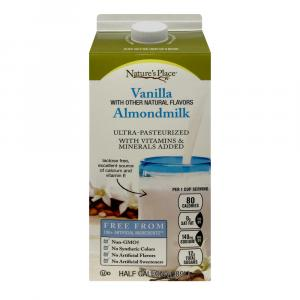 Nature's Place All Natural Vanilla Almondmilk