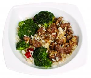 Taste of Inspirations Beef & Broccoli with White Rice