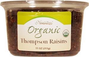 Nature's Place Organic Thompsons Raisins
