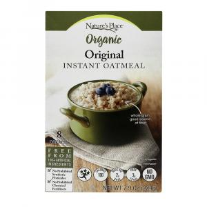 Nature's Place Organic Regular Instant Oatmeal