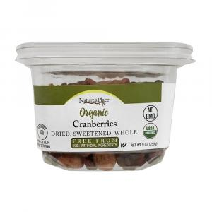 Nature's Place Organic Whole Cranberries