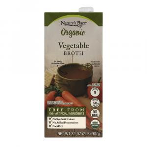 Nature's Place Organic Vegetable Broth
