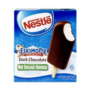 Eskimopie No Sugar Added Dark Chocolate Vanilla Ice Cream
