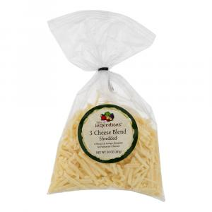 Taste of Inspirations Three Cheese Blend Shredded