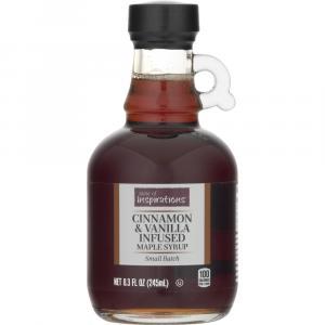 Taste of Inspirations Cinnamon & Vanilla Infused Maple Syrup