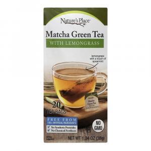 Nature's Place Matcha Green Tea with Lemongrass