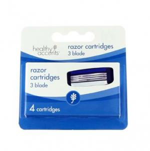 Healthy Accents 3-Blade Razor Cartridge for Men