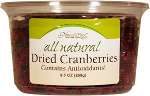 Nature's Place All Natural Dried Cranberries