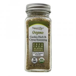 Nature's Place Organic Garden Herb & Citrus Seasoning