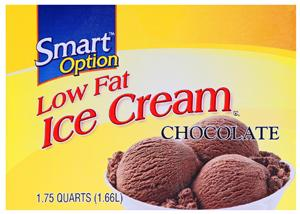 Smart Option Low Fat Chocolate Ice Cream