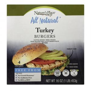 Nature's Place All Natural Turkey Burgers